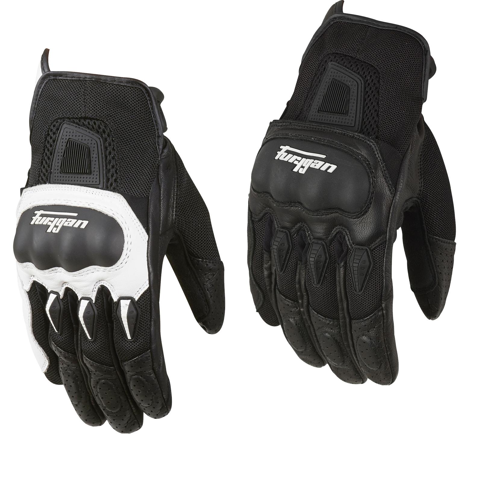 Sport Motorcycle Gloves: Furygan Laguna Sport Motorcycle Gloves