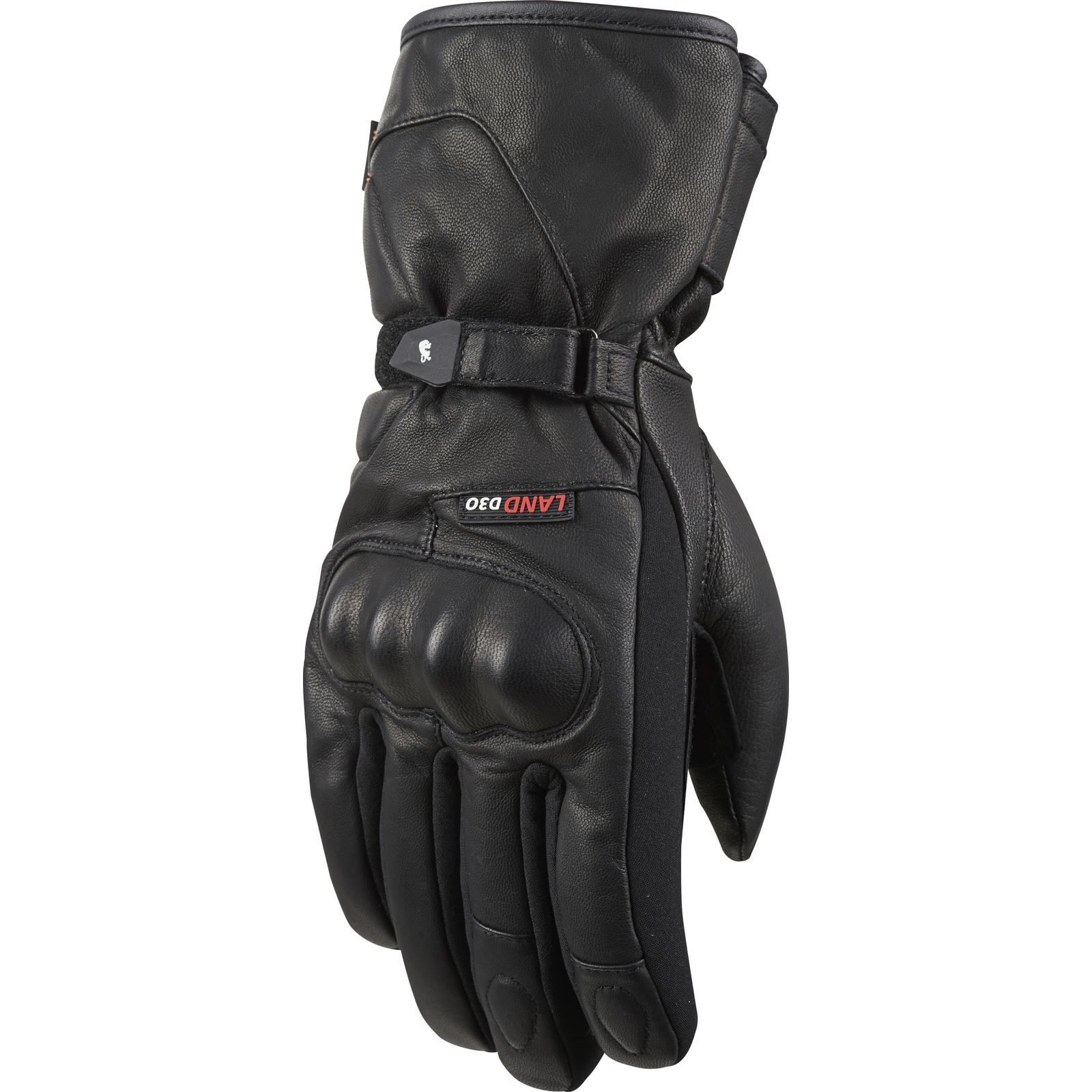 Furygan-Land-D3O-Evo-Winter-Motorcycle-Gloves-Waterproof-Visor-Wipe-Thermal-Bike