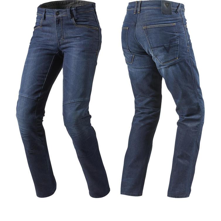 Rev It Seattle Dark Blue Motorcycle Jeans