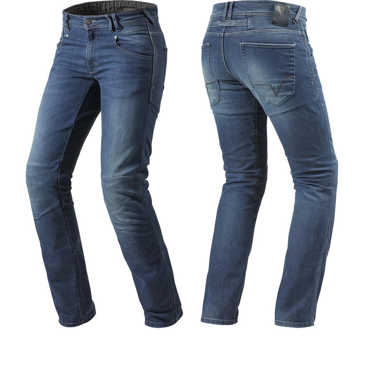 Rev It Corona Medium Blue Motorcycle Jeans