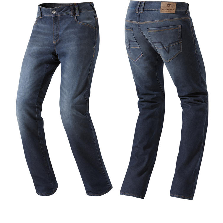Rev It Rockefeller Dark Blue Motorcycle Jeans