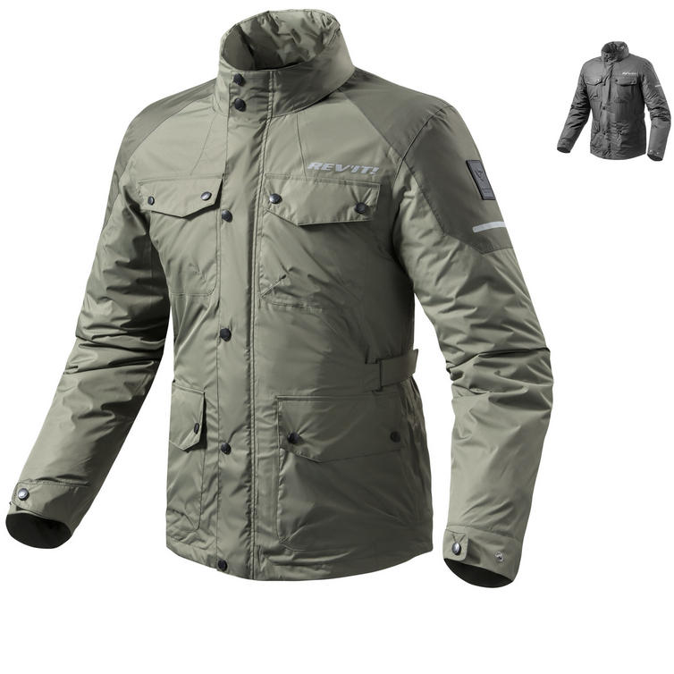 Rev It Quartz H2O Rainwear Motorcycle Over Jacket