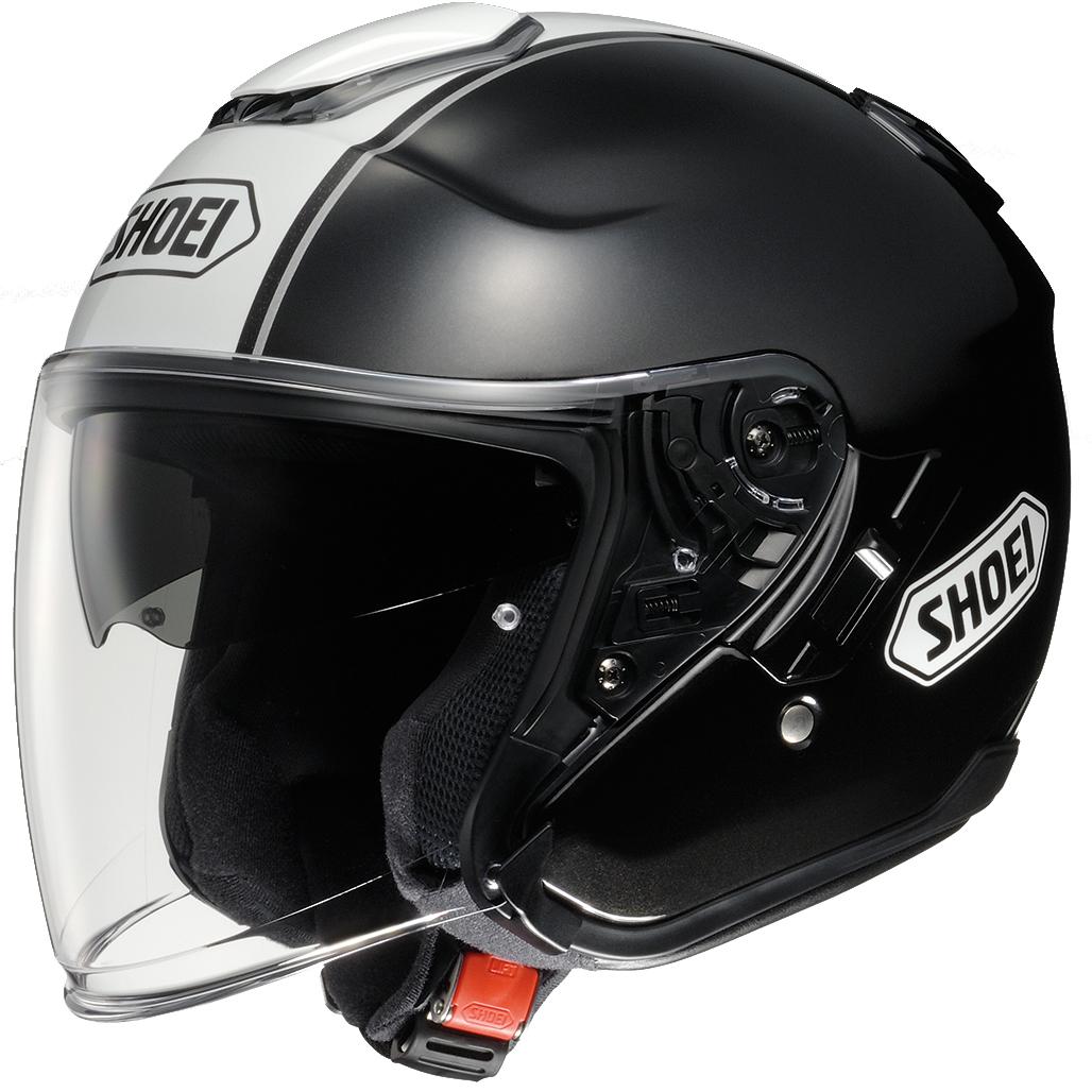 Shoei-J-Cruise-Corso-Open-Face-Motorcycle-Helmet-Sun-Visor-Quick-Release-Scooter