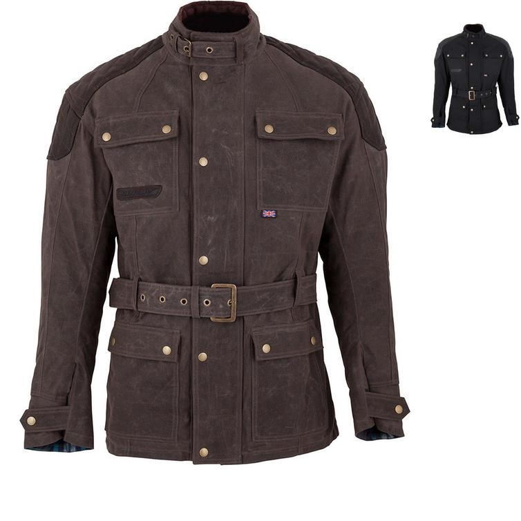 Spada Staffy Wax Motorcycle Jacket