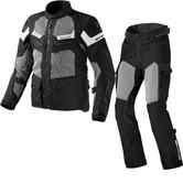 Rev It Cayenne Pro Motorcycle Jacket and Trousers Black Kit