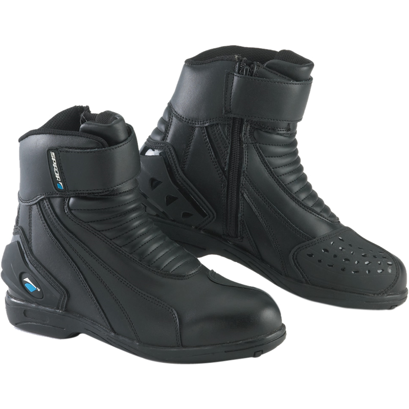 3758c2e04cf Details about SPADA ICON WP WATERPROOF SHORT SPORTS PADDOCK ANKLE  MOTORCYCLE SCOOTER BOOTS
