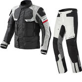Rev It Defender Pro GTX Motorcycle Jacket and Trousers Anthracite Black Grey Kit