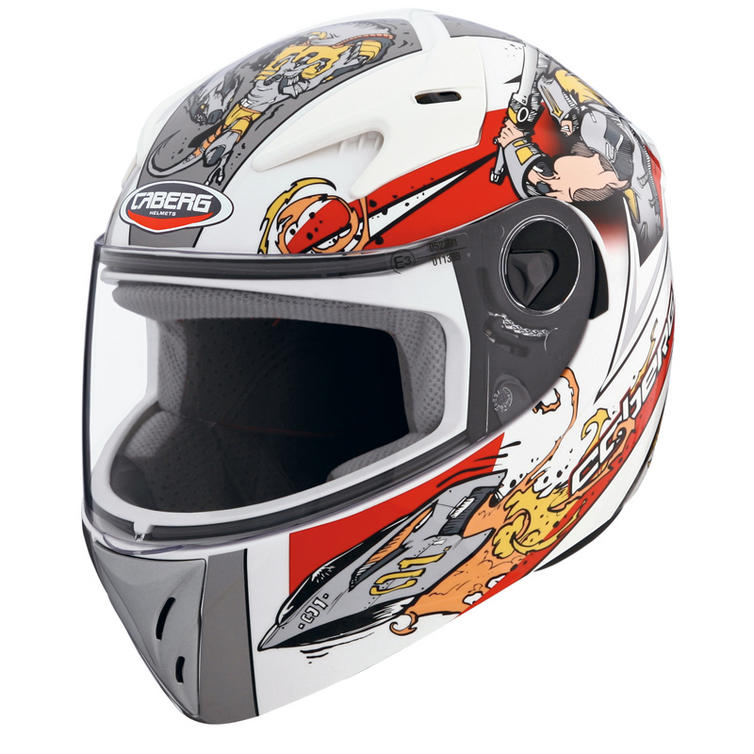 Caberg V-Kid Warrior Junior Motorcycle Helmet