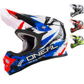 Oneal 3 Series Shocker Motocross Helmet