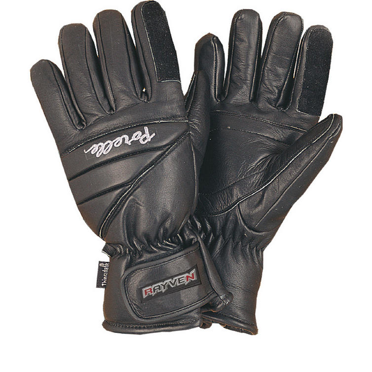 Rayven Storm II Leather Motorcycle Gloves