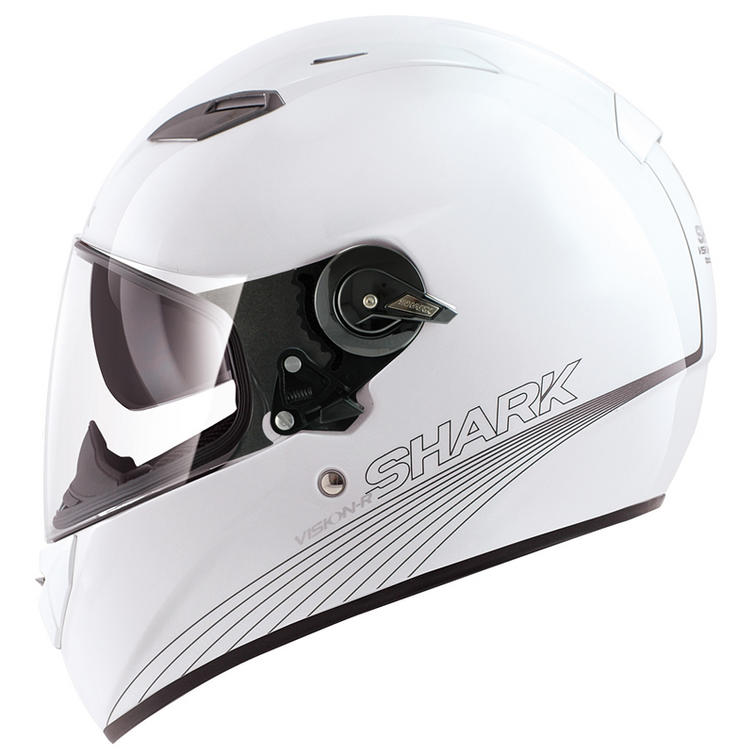 shark vision r blank motorcycle helmet full face helmets. Black Bedroom Furniture Sets. Home Design Ideas