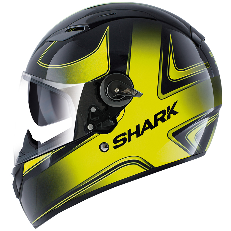 shark vision r high visibility motorcycle helmet full face helmets. Black Bedroom Furniture Sets. Home Design Ideas