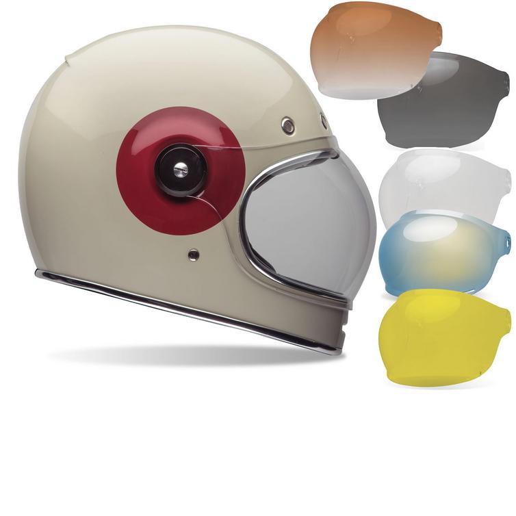 Bell Bullitt TT Motorcycle Helmet Tinted Bubble Visor