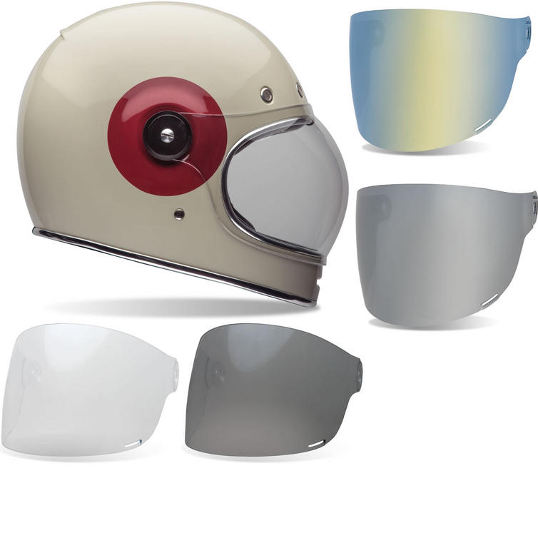 Bell Bullitt TT Motorcycle Helmet Tinted Flat Visor