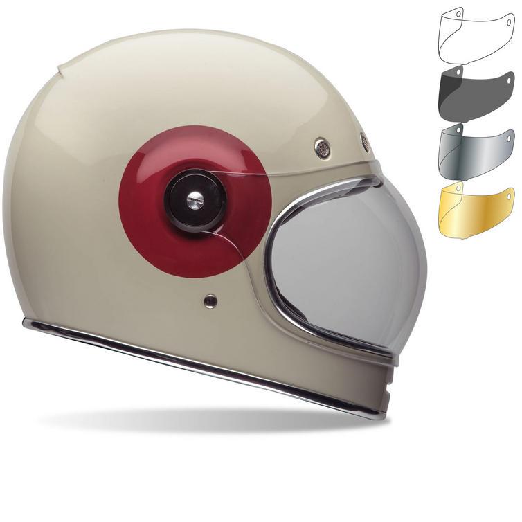 Bell Bullitt TT Motorcycle Helmet Flat Shield Visor