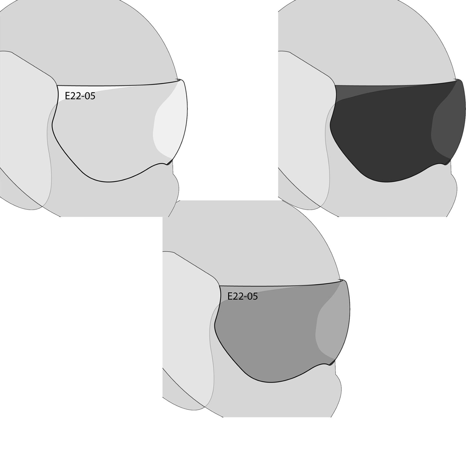 Roof Desmo Visor Visors 311 Clear