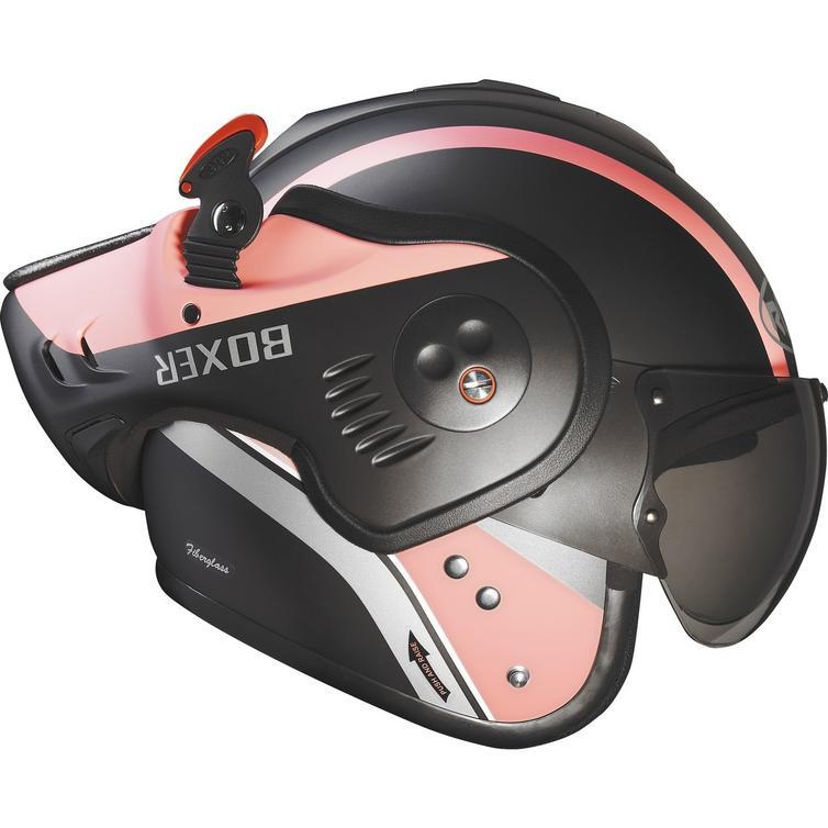 Roof Boxer V8 Manga Flip Front Motorcycle Helmet Amp Visor