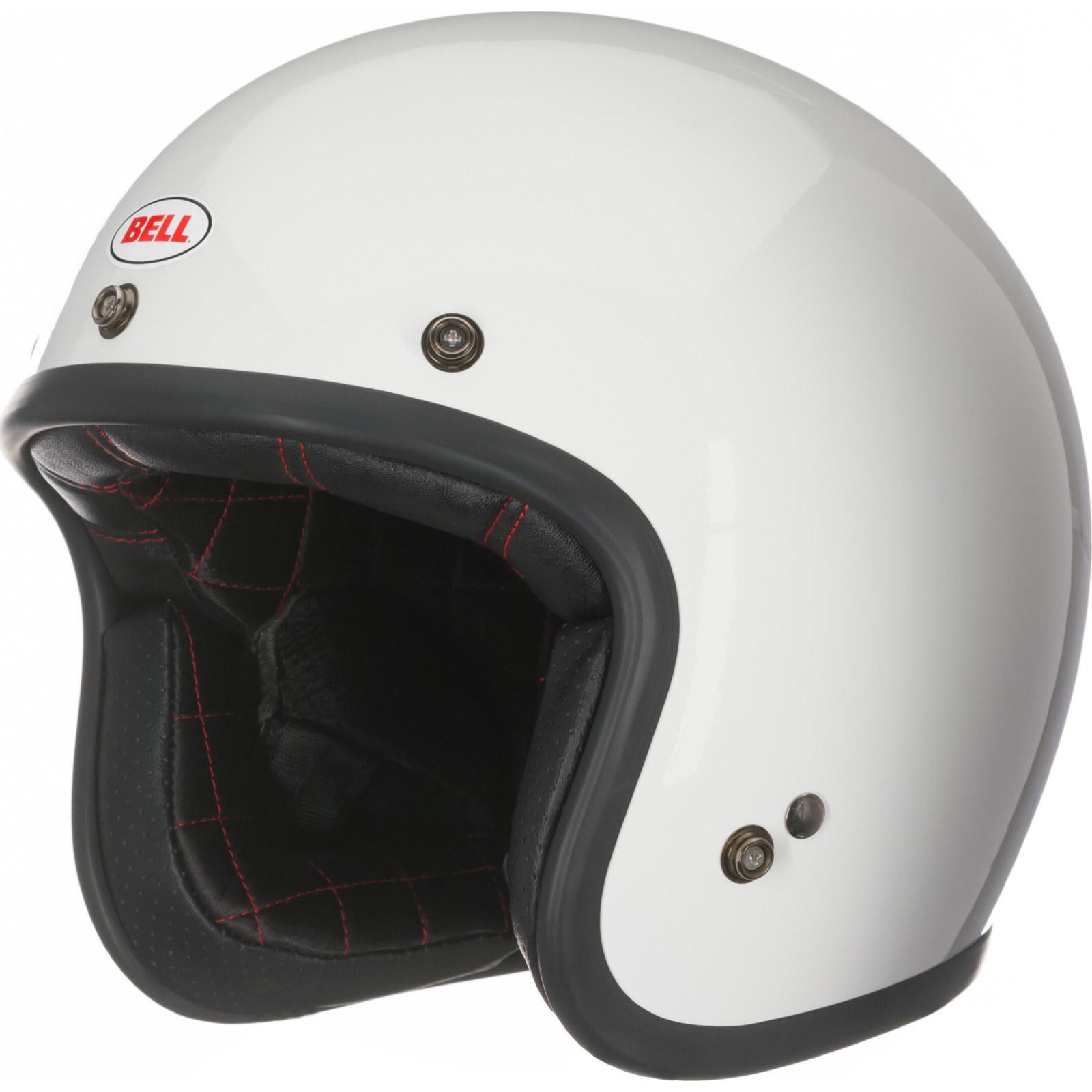 Open Face Motorcycle Helmet Motorbike