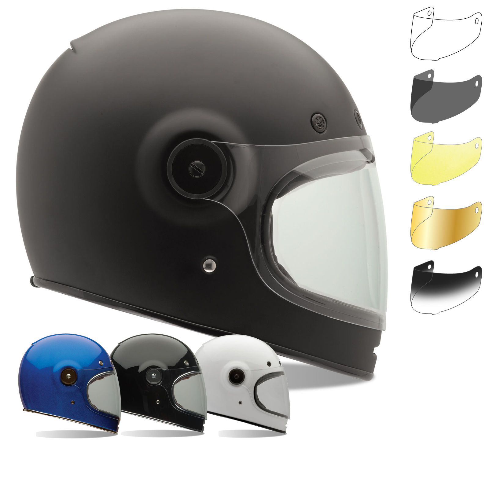 b2528527 Bell Helmet Bubble Shields - VAST