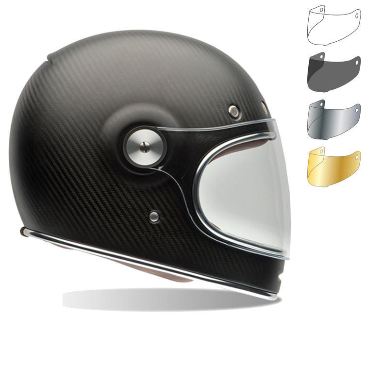 6b4f7084 Bell Bullitt Carbon Matte Motorcycle Helmet & Brown Tab Flat Visor - Full  Face Helmets - Ghostbikes.com