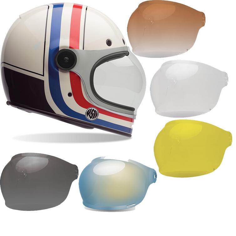 Bell Bullitt SE RSD Viva Motorcycle Helmet & Brown Tab Bubble Visor