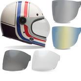 Bell Bullitt SE RSD Viva Motorcycle Helmet & Brown Tab Flat Visor
