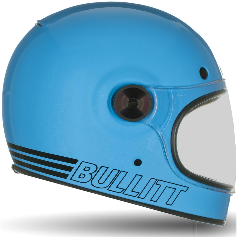 Bell-Bullitt-Retro-Motorcycle-Helmet-Bubble-Tinted-Brown-