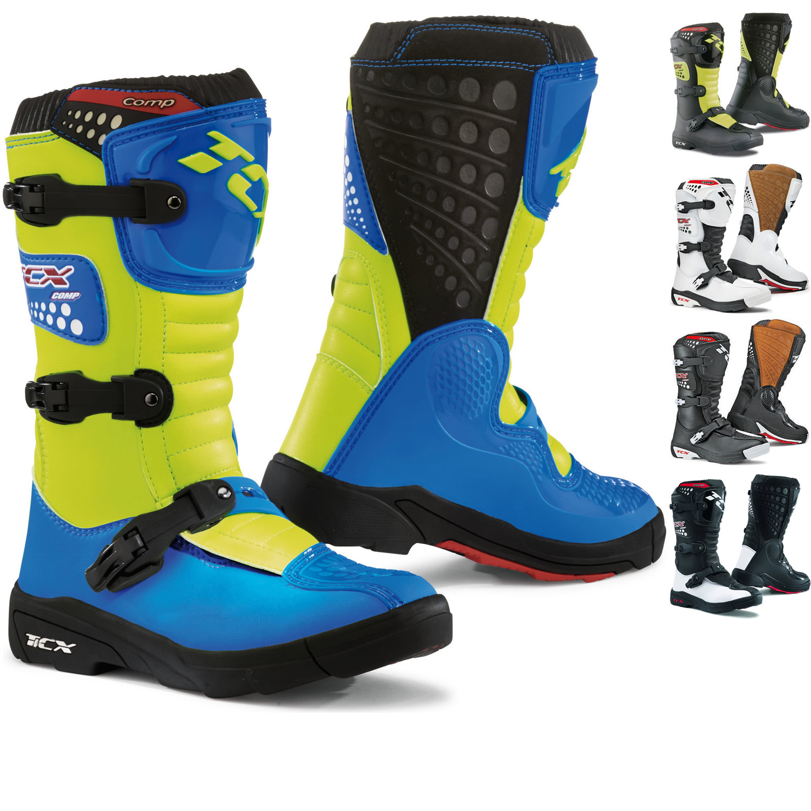 99632b1af1de TCX Comp Kids Motocross Boots MX Off Road Adventure Enduro Bike ATV ...