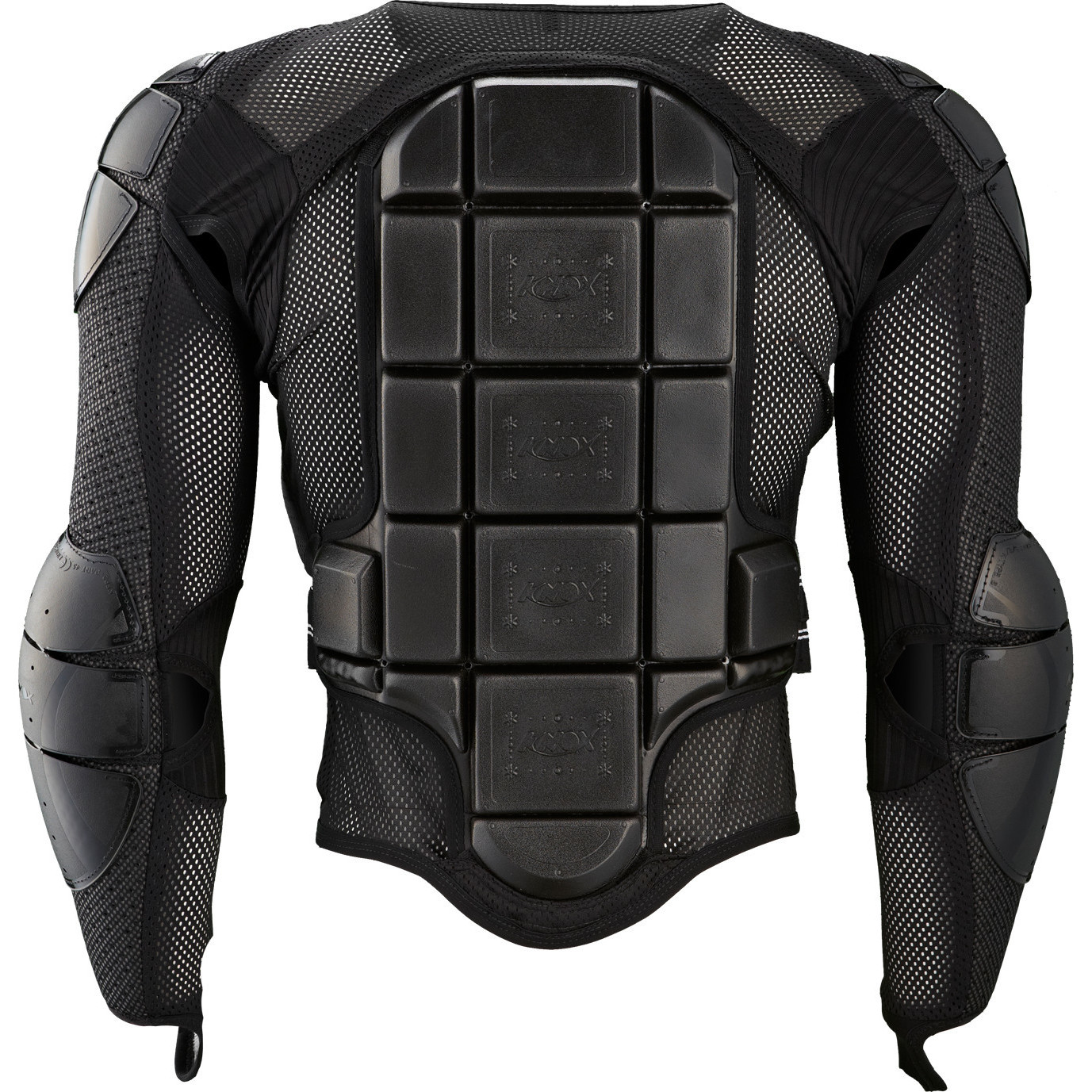 Knox cross shirt body protector lightweight all terrain for Motorcycle body armor shirt