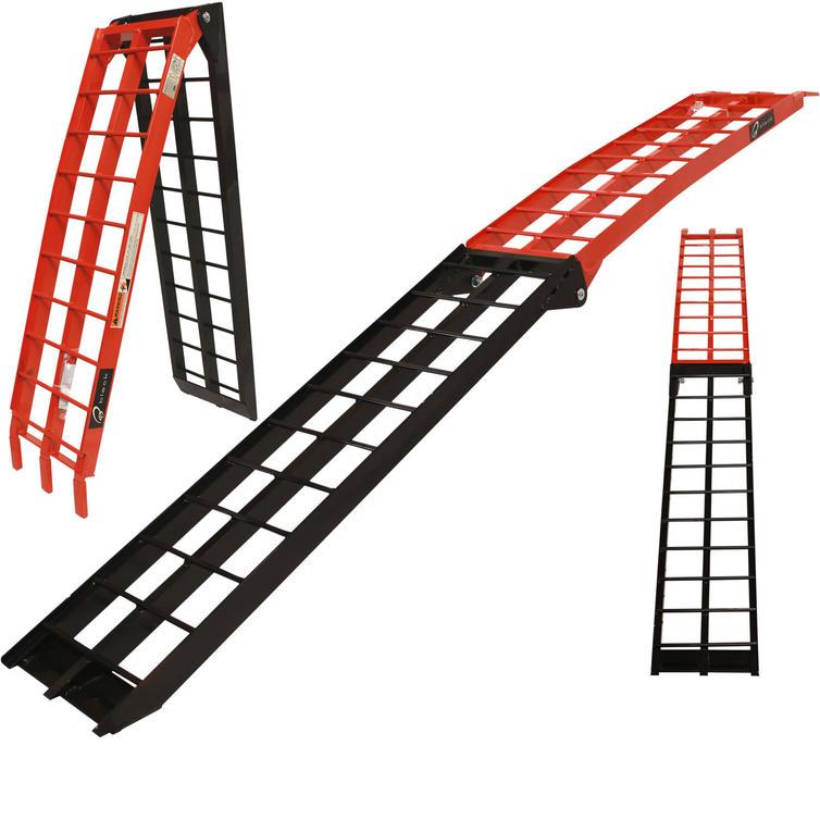 Black Pro Range Runner Aluminium Folding Ramp (B5222)