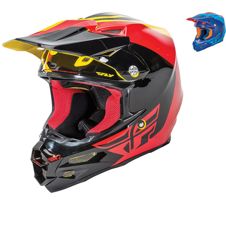 Fly Racing 2016 F2 Carbon Pure Motocross Helmet