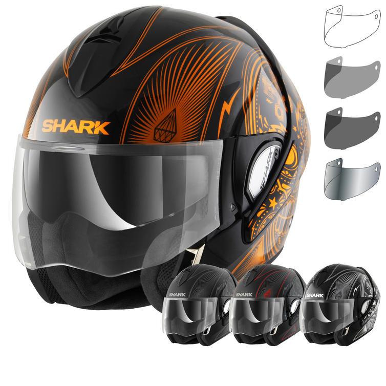 Shark Evoline S3 Mezcal Flip Front Motorcycle Helmet & Visor