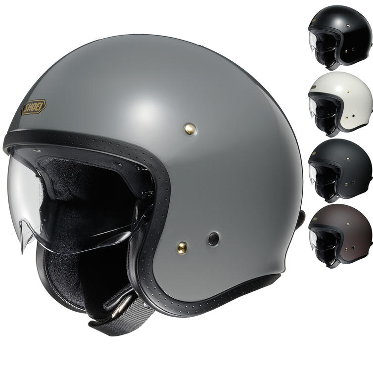 Shoei J.O Open Face Motorcycle Helmet