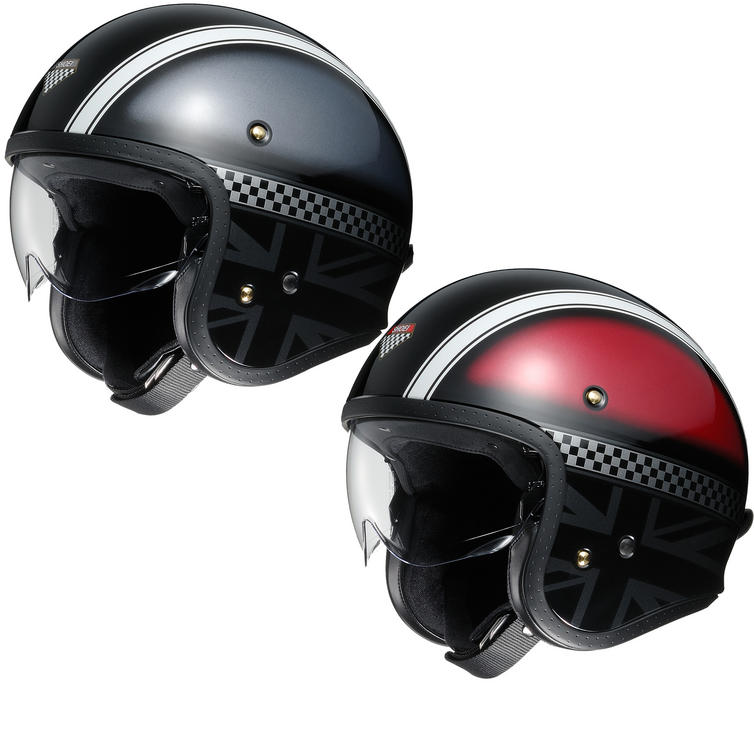 Shoei J.O Hawker Open Face Motorcycle Helmet