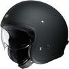 Shoei J.O Open Face Motorcycle Helmet & Visor Thumbnail 6
