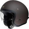 Shoei J.O Open Face Motorcycle Helmet & Visor Thumbnail 7