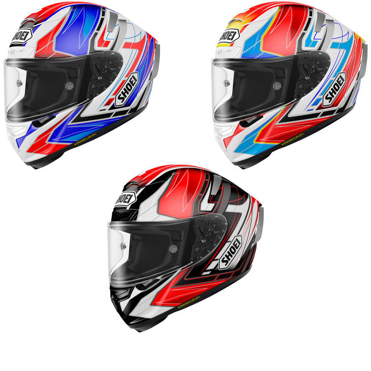 Shoei X-Spirit 3 Assail Motorcycle Helmet