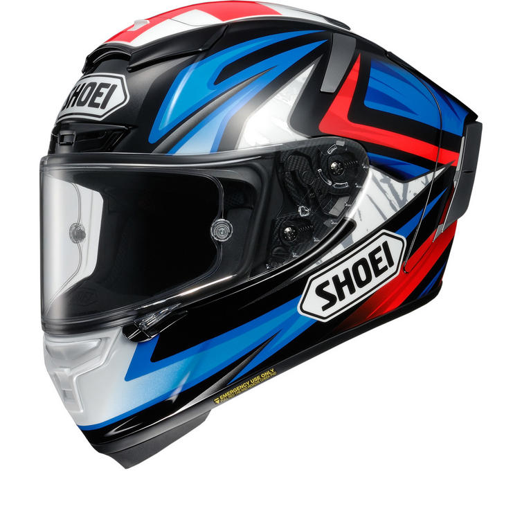 Shoei X-Spirit 3 Bradley Motorcycle Helmet