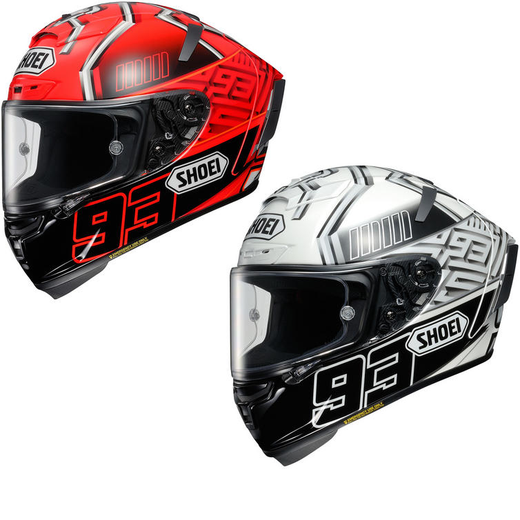 Shoei X-Spirit 3 Marquez Motorcycle Helmet