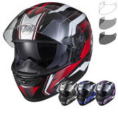 THH TS-80 #6 Full Face Helmet & Tinted Visor Kit
