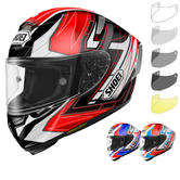 Shoei X-Spirit 3 Assail Motorcycle Helmet & Visor