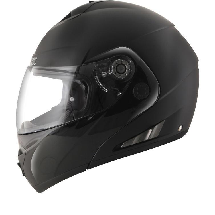 Shark OpenLine Pinlock Dual Black Flip Front Motorcycle Helmet