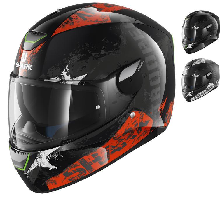 Shark Skwal Trooper Motorcycle Helmet