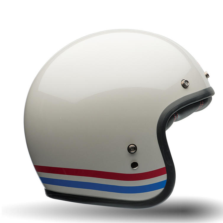 Bell Custom 500 Deluxe Stripes Motorcycle Helmet