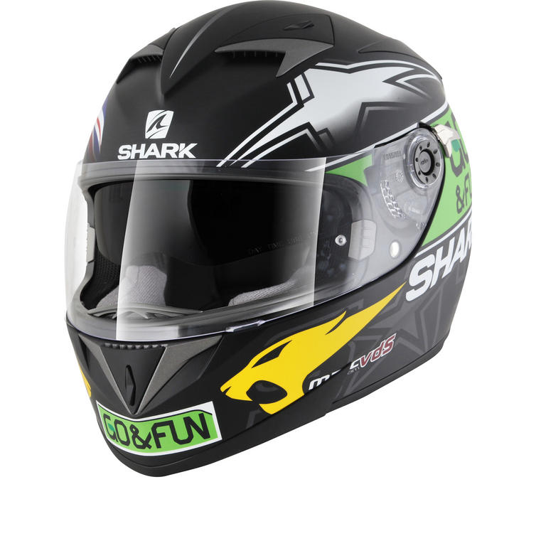 Shark S700-S Redding Valencia Motorcycle Helmet