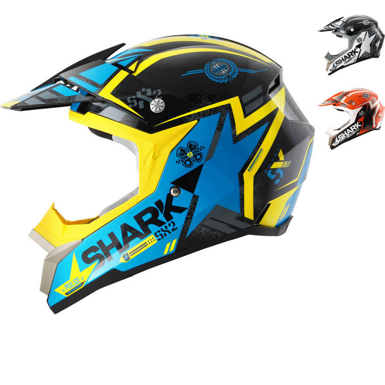 Shark SX2 Wacken Motocross Helmet