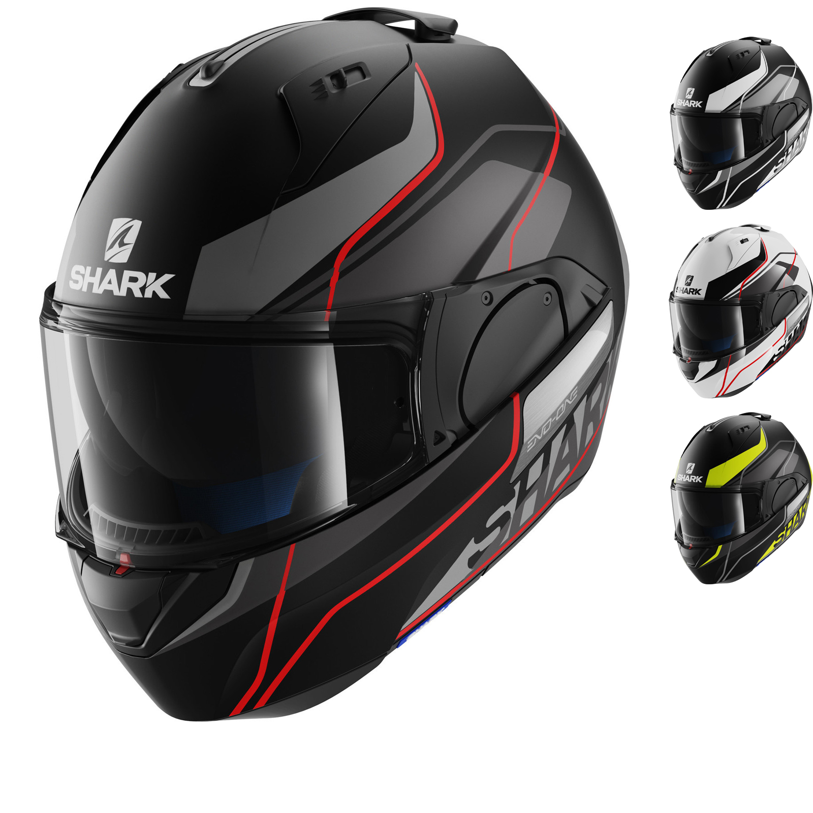shark evo one krono flip front motorcycle helmet flip front helmets. Black Bedroom Furniture Sets. Home Design Ideas