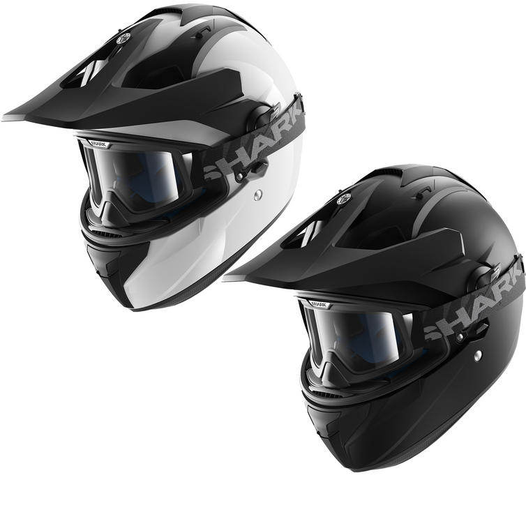 Shark Explore-R Blank Dual Sport Helmet