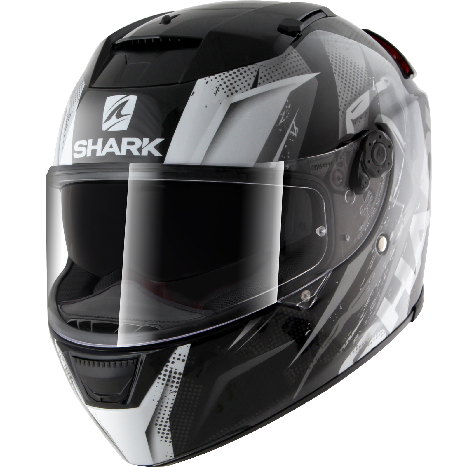 shark speed r tizzy motorcycle helmet visor dd ring pinlock insert sun shield ebay. Black Bedroom Furniture Sets. Home Design Ideas