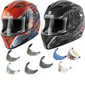 Shark S700-S Foggy Motorcycle Helmet & Visor